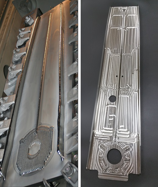 Airbus Rear Upper Spar Collage Additive Manufacturing