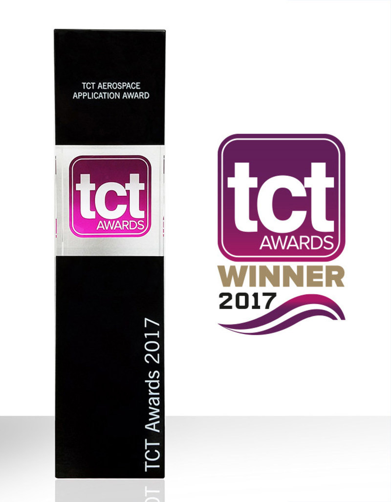 TCT Aerospace Award Trophy