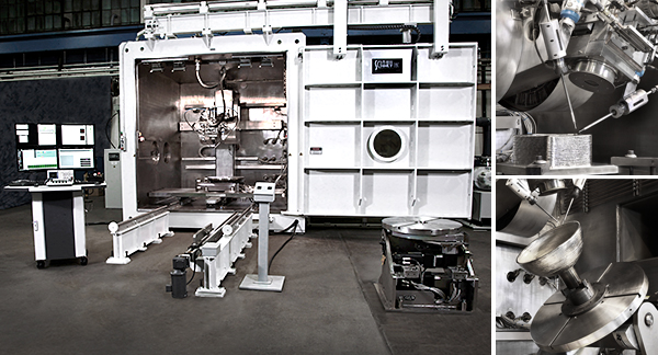 Sciaky Metal Additive Manufacturing Machine - EBAM 110 Series
