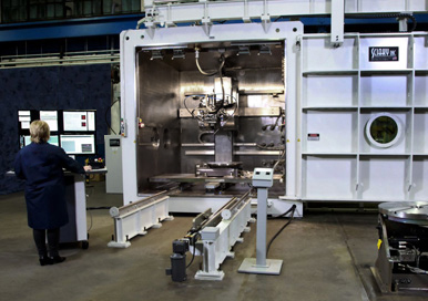 Sciaky vx 110 electron beam additive manufacturing system