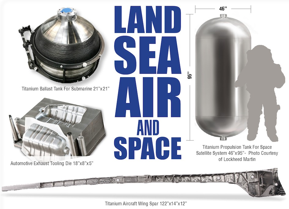 Trust Sciaky in Land, Sea, Air & Space